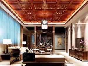 云时代全屋整装 客厅 中式贵族风