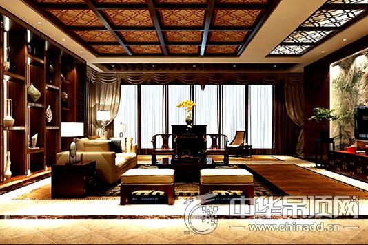 中式风格集成吊顶图片 奥斯美集成吊顶图片