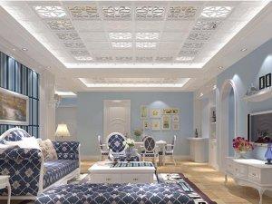 新中式风格托斯卡纳集成吊顶装修效果图