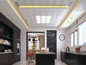美尔凯特慕光之城系列厨房吊顶装修效果图