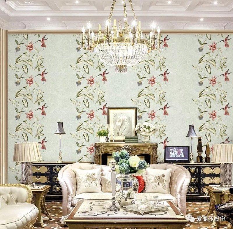 凯杜·爱丽莎新品高端壁布皇家庄园1.2产品效果图