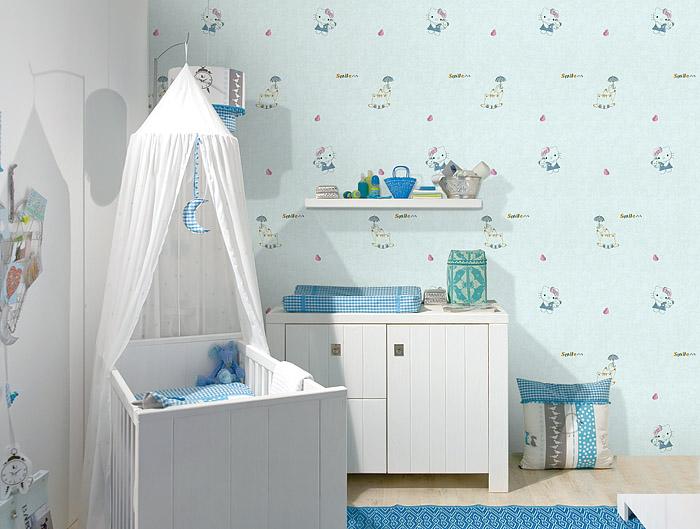福秀墙布 儿童房装修效果图