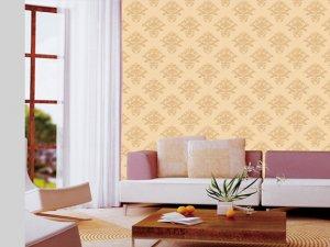 美仑空间无缝墙布图片 欧式风格AA46壁纸装修效果图