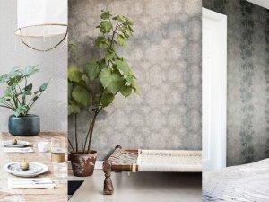 格莱美墙纸布艺产品及装修效果图
