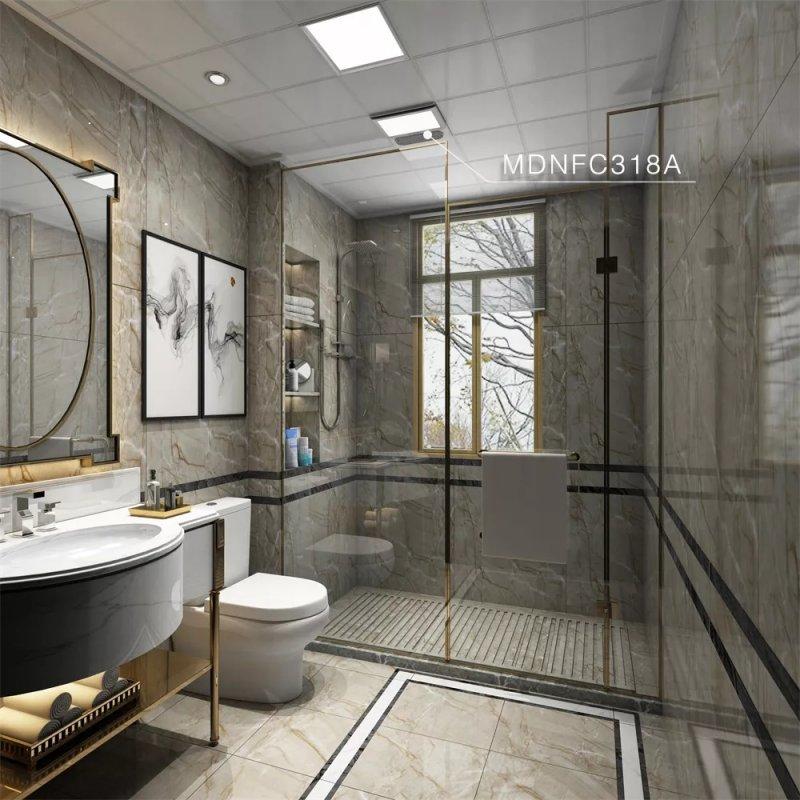 法狮龙客厅吊顶浴室取暖产品及装修效果图