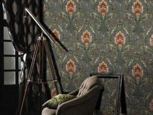 科布斯无缝墙布欧式风格墙布装修效果图