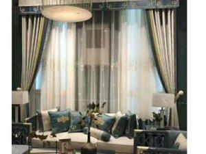 汇丽丰窗帘  客厅窗帘