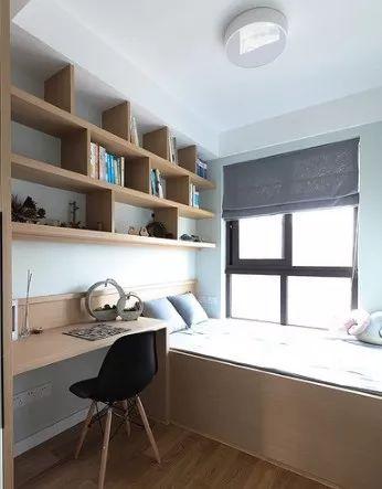 一房多用,多功能卧室装修效果图,带给你不一样的生活享受!_4