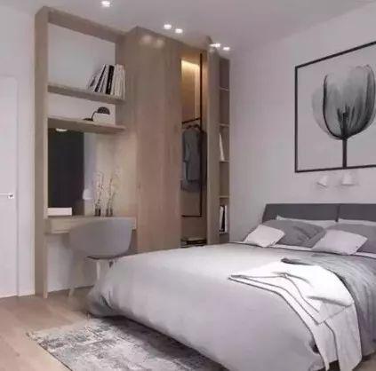 一房多用,多功能卧室装修效果图,带给你不一样的生活享受!_7