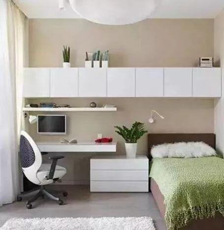 一房多用,多功能卧室装修效果图,带给你不一样的生活享受!_5