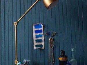 欧仕莱墙布加盟产品 小众冷色调墙布效果图