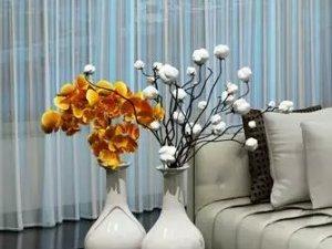 锦尚帛美墙布加盟产品 客厅墙布装修效果图