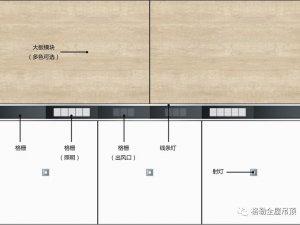 格勒集成吊顶格美系列 蜂窝大板装修效果图