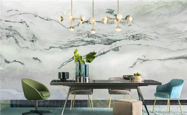 沃莱菲壁纸壁布图片 刺绣墙布效果图