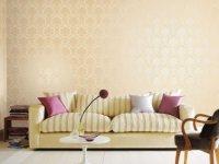 德诺壁纸软装 客厅墙纸装修效果图