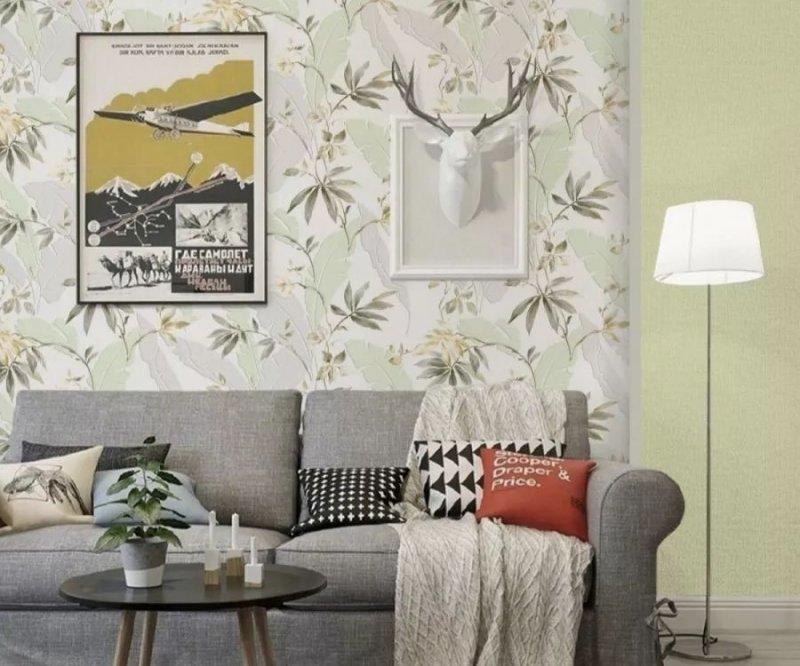 富嘉墙纸图片《三国》轻奢风格墙布效果图
