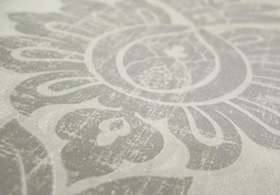 优丽欧壁纸《米兰之家》田园风格墙布效果图