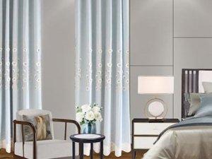 亨丽窗帘加盟产品 田园风格窗帘装修效果图