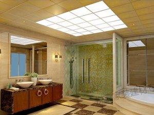 品格高端全屋顶图片 品格高端全屋顶铝扣板装修效果图