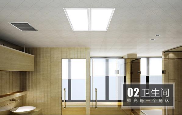 托斯卡纳集成吊顶白色简约装修效果图