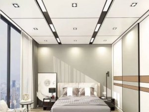 欧斯龙集成吊顶加盟产品 蜂窝大板装修效果图