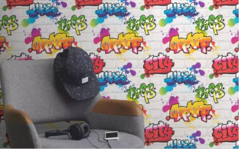 朗饰壁纸《童趣饰》儿童壁纸装修效果图