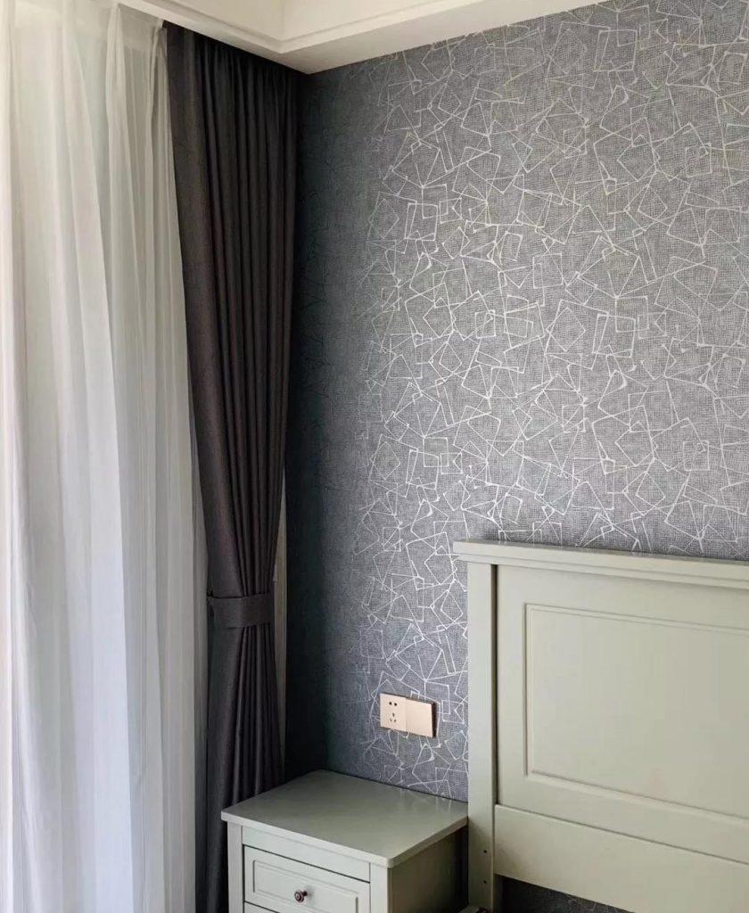 德国玛堡壁纸《茉莉诗语》田园风格壁纸装修效果图