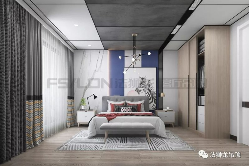 法狮龙集成吊顶加盟产品 简约风格大板装修效果图
