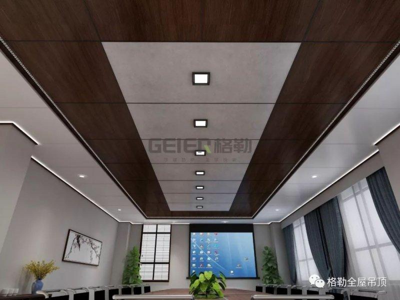 格勒集成吊顶格美系列 大板吊顶装修效果图