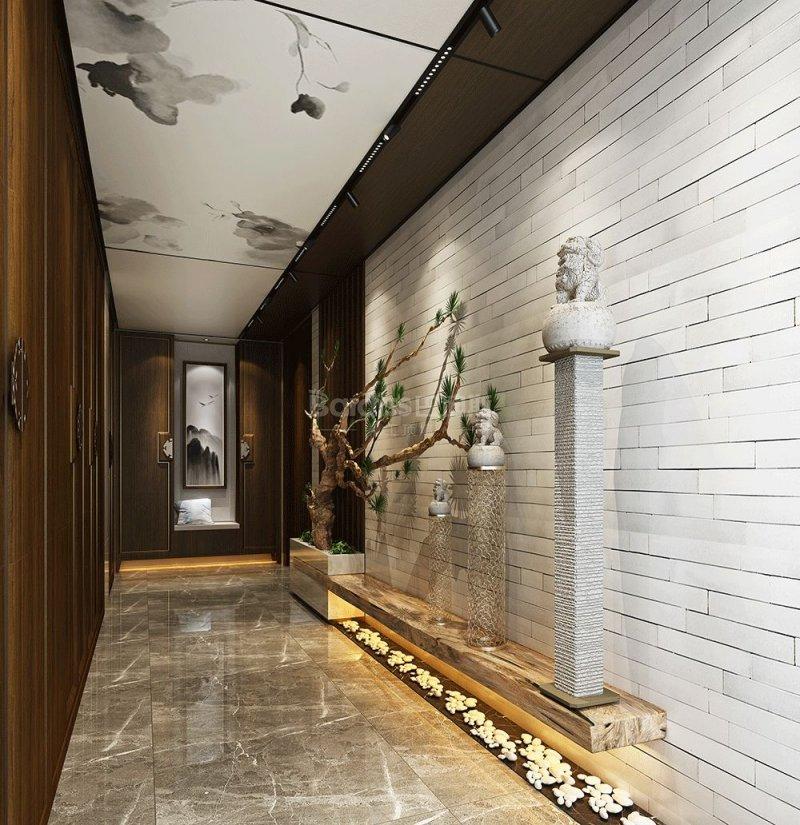巴迪斯精工顶墙镜空系列 大板吊顶装修效果图