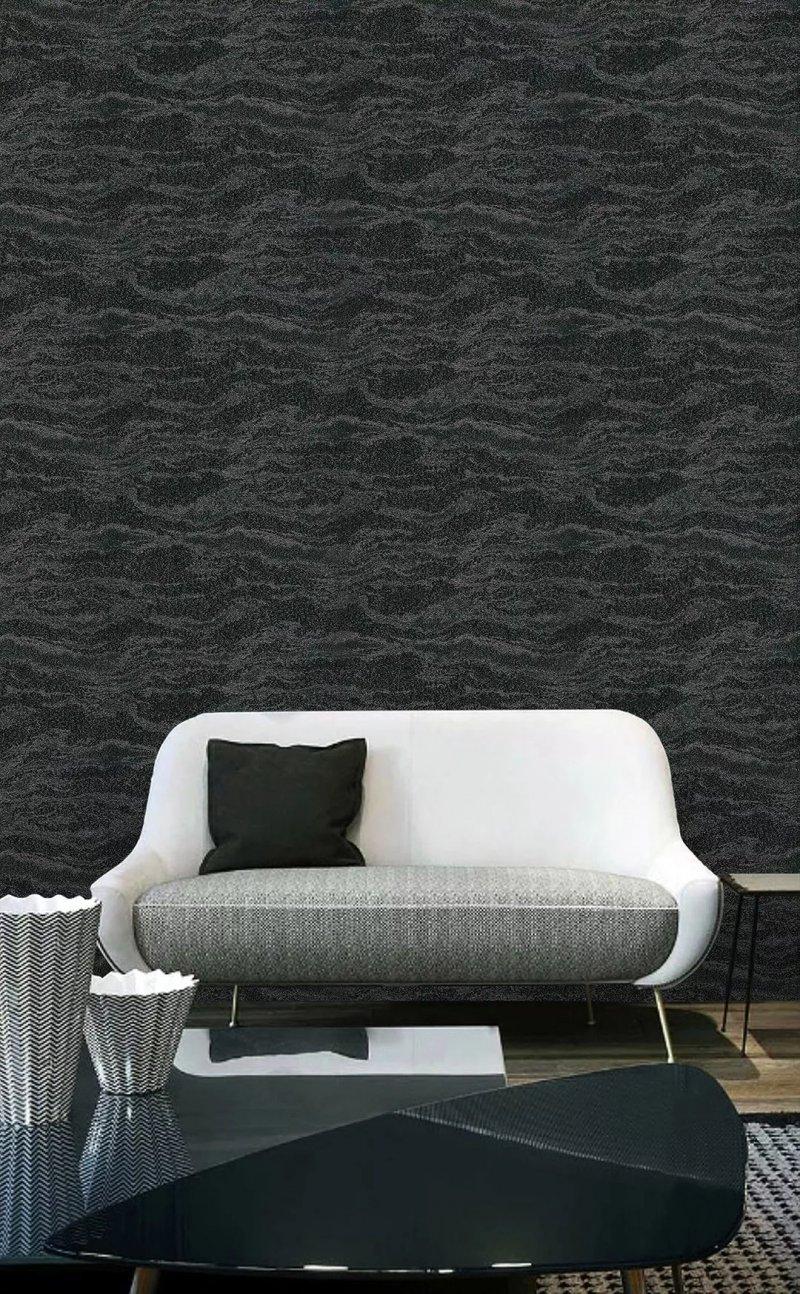 爱漫时壁纸《凯悦25》 轻奢风格壁纸装修效果图
