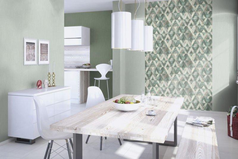 朗饰壁纸尤卡坦 美式风格壁纸装修效果图