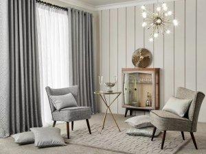 布鲁斯特加盟产品 欧式风格窗帘装修效果图
