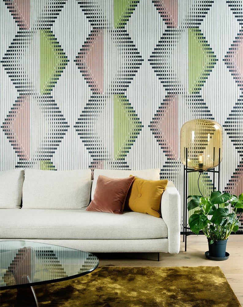 范斯顿墙纸《斯凯奇》 现代风格墙纸装修效果图