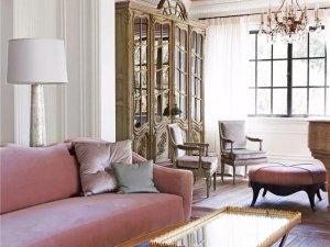 小轩窗窗帘《朗慕》 欧式风格窗帘装修效果图