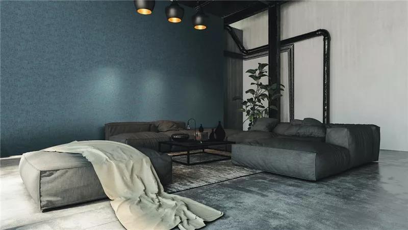 德国玛堡《创世纪Genesi》 美式风格壁纸装修效果图