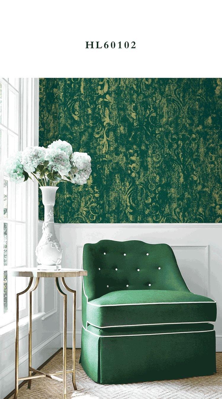 摩登野兽墙布《琉璃梦》 欧式风格墙布装修效果图