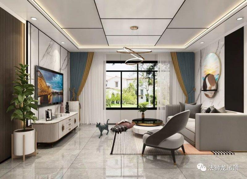 法狮龙集成吊顶悦尚大板 现代风格吊顶装修效果图