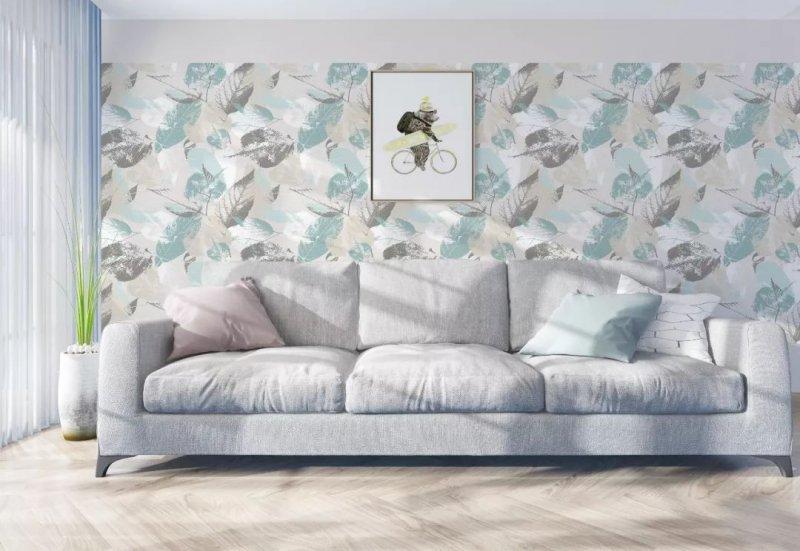 汇明提花墙布加盟产品 新中式风格墙布装修效果图
