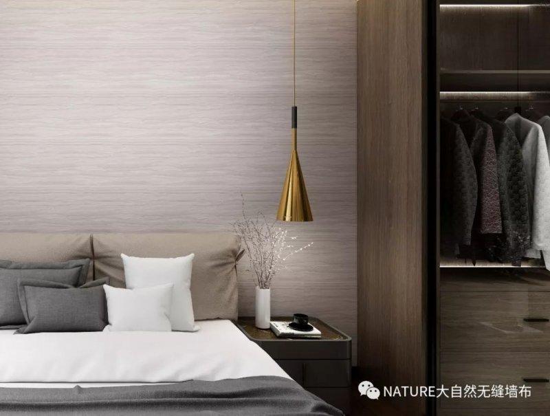 大自然墙布YIGER亦舸 简约风格墙布装修效果图