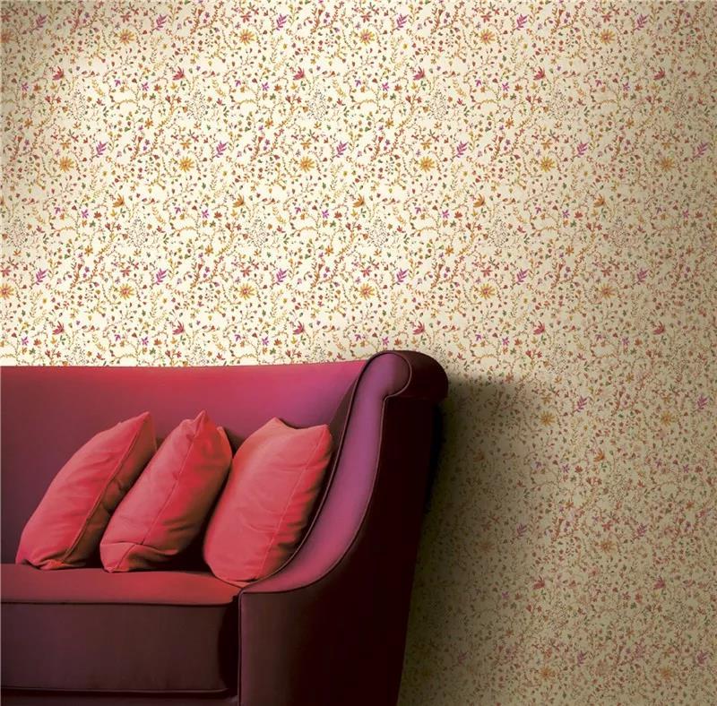 德国玛堡壁纸《多彩喀拉拉》 特色壁纸装修效果图