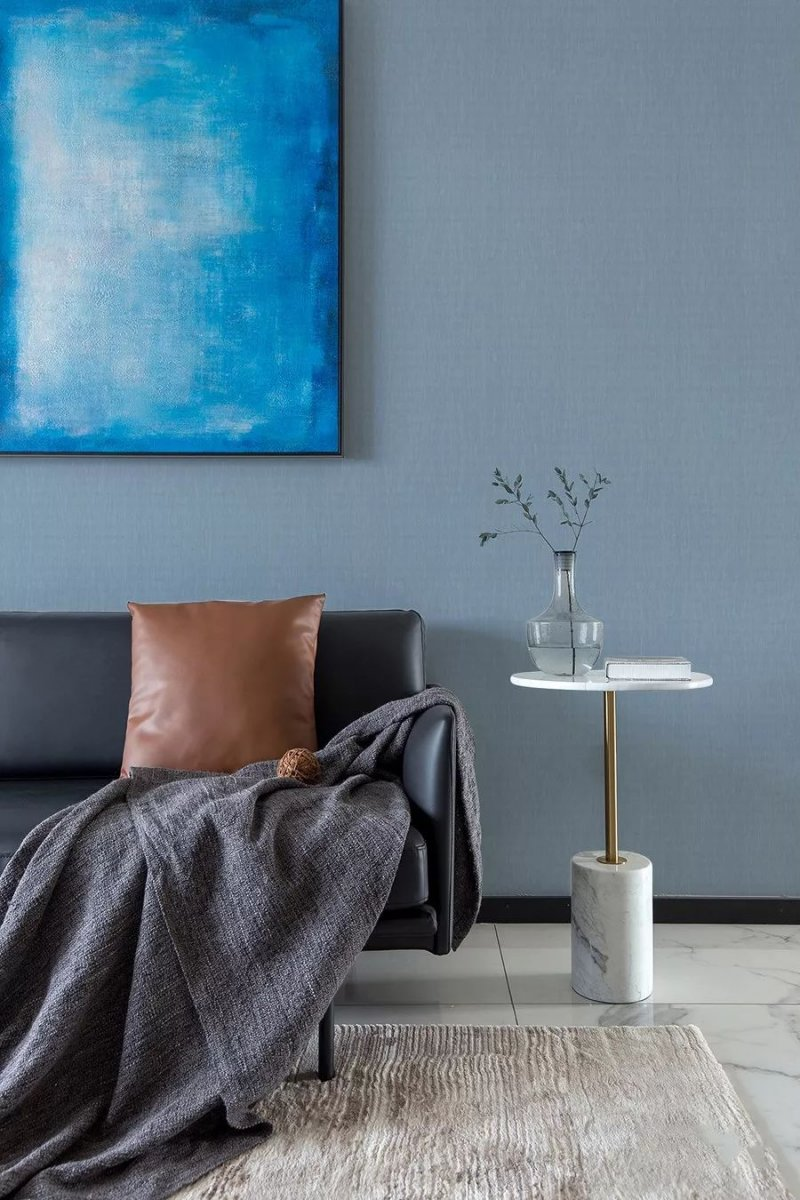 汇明提花墙布《简·色彩3》系列 现代风格墙布装修效果图