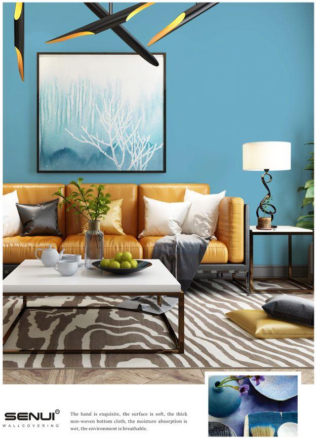 圣宇壁纸·壁布王者8 简约风格壁布装修效果图