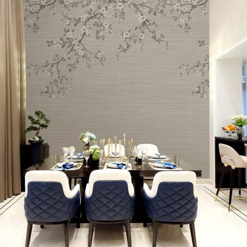 布鲁斯特墙纸《威尼斯》 欧式风格墙纸装修效果图