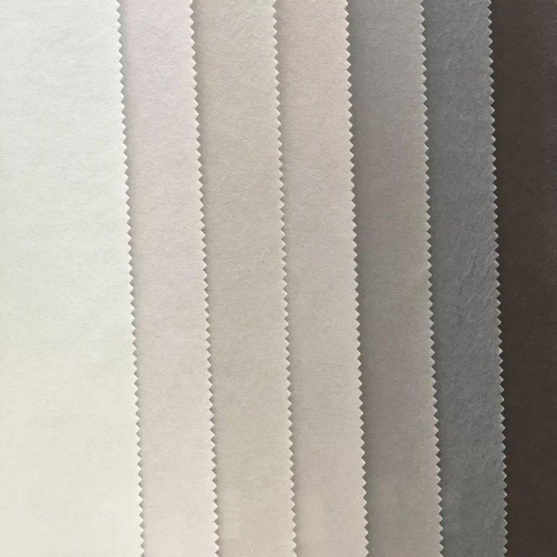 宙饰壁纸素色竹纤维系列 简约风格壁纸装修效果图