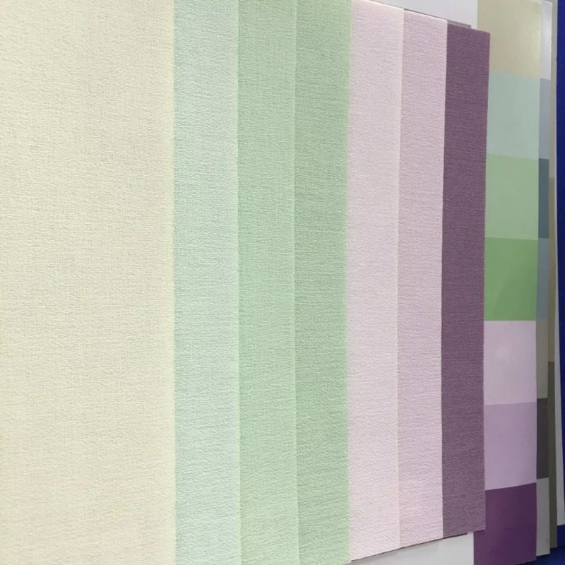 宙饰壁纸B170美纱 简约风格壁纸装修效果图