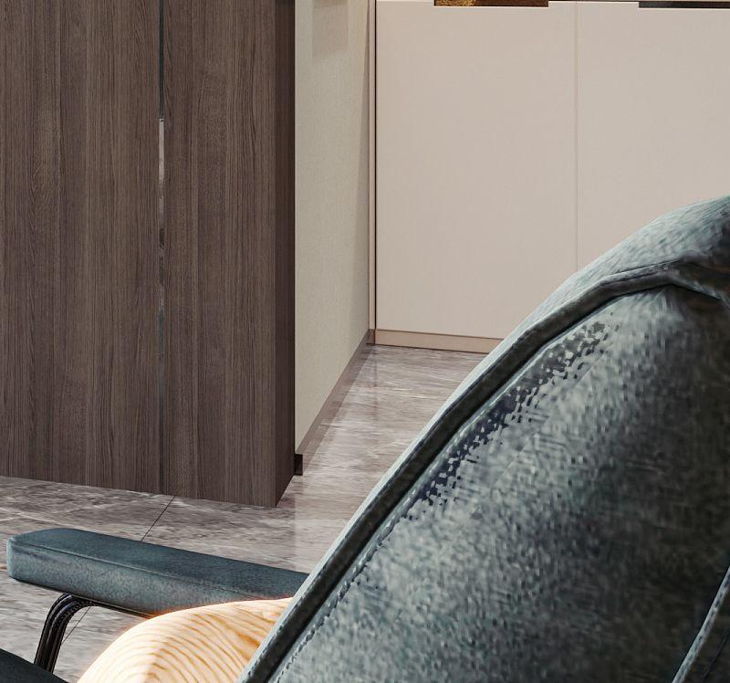 逸绣刺绣墙布D804 现代简约风格墙布装修效果图