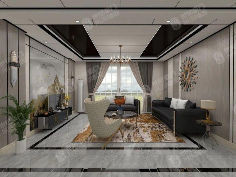 世纪豪门集成吊顶图片 客厅装修效果图