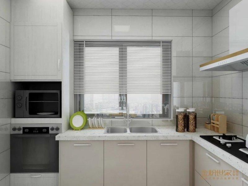 金粉世家集成吊頂廚房裝修圖片 現代簡約風格裝修效果圖
