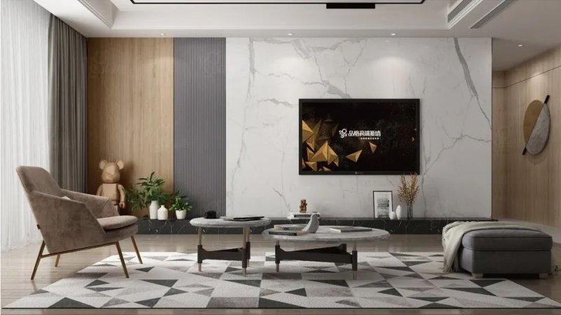 品格高端顶墙装修图片 现代北欧风格装修效果图_1